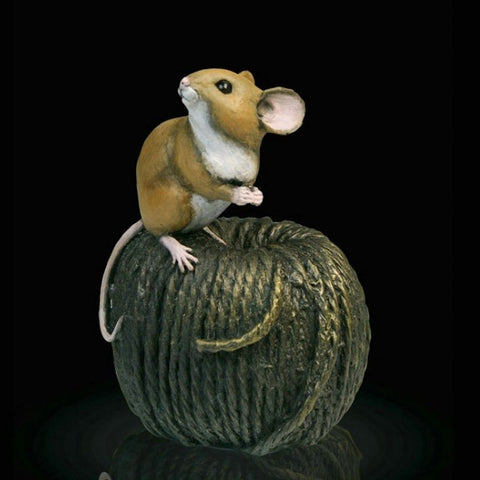 "Richard Cooper Studio – ""Mouse on Ball of Twine"""
