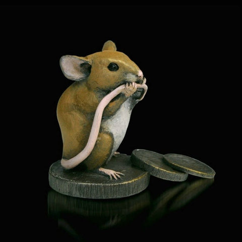 "Richard Cooper Studio – ""Mouse on Old Pennies"""