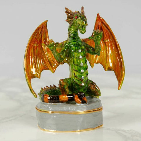 Juliana: Trinket Box. Treasured Trinkets: Roaring Green Dragon