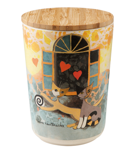 Rosina wachtmeister Cats - Pot with Lid - Amorosa 15
