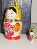 "Arora Design – ""Russian Doll Trinket Box with Necklace Pendant"""