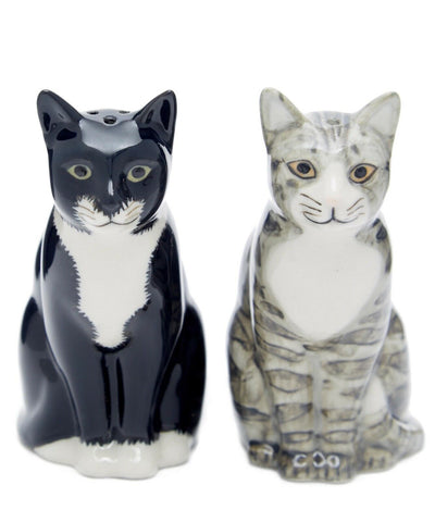 "Quail Ceramics: Salt & Pepper Pots: Cats ""Sadie & Smartie"""