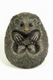 Oriele Bronze: Small Hedgehog Curled Up