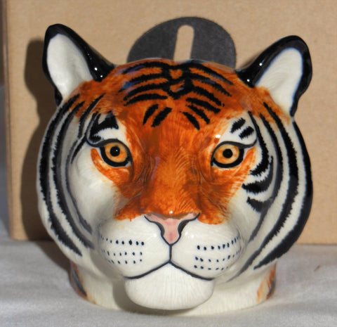 Quail Ceramic: Face Egg Cup: Tiger