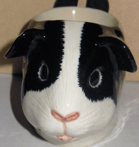 Quail Ceramics: Face Egg Cup: Guinea Pig - Tri Coloured