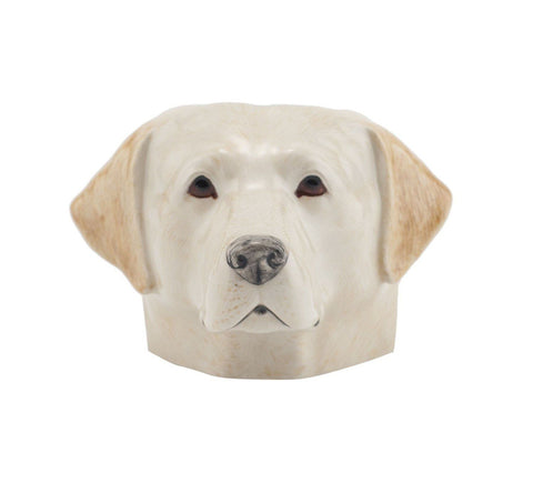 Yellow Labrador Face Egg Cup from Quail Ceramics