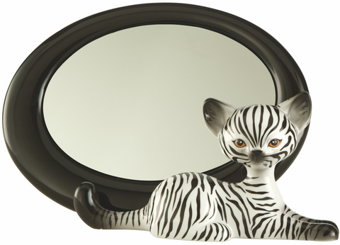 Kitty Delux by Goebel - Zebra Kitty Mirror