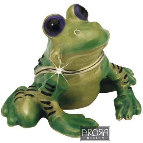Arora Design Frog Trinket Box