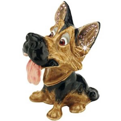 Arora Design German Shepherd Trinket Box