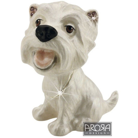 Arora Design Westie Trinket Box