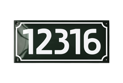 12316 house number signs