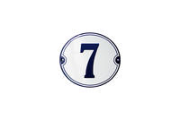7 house number plate