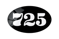 725 house number plate