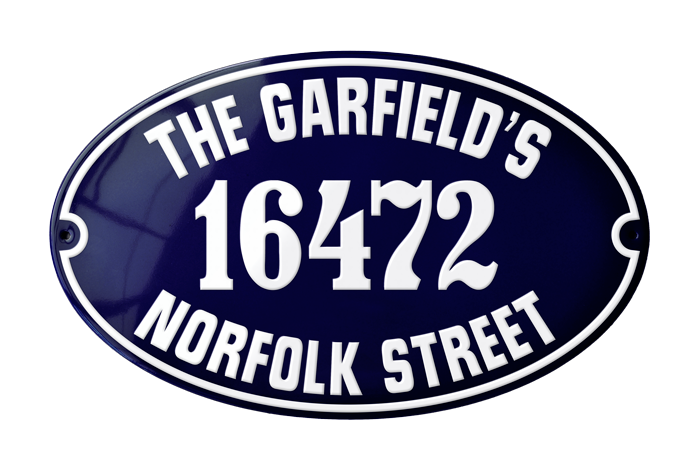 Address Plaques - enamel signs