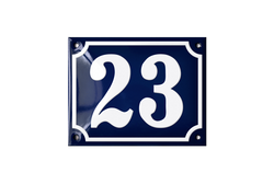 23 french house number plaque
