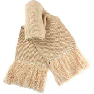 Vicuna Cashmere Scarves with Tassels