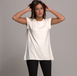cap sleeve top snow