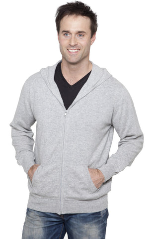 Men's Cashmere V Neck Jumpers With Stripe