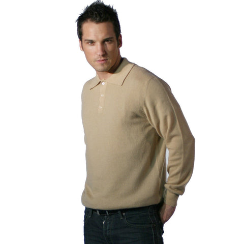 Men's Cashmere Polo Neck Jumpers