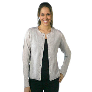 women's cashmere cardigans oatmeal