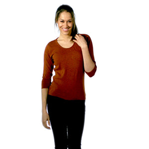 Women's Ruched Neck Cashmere Jumpers