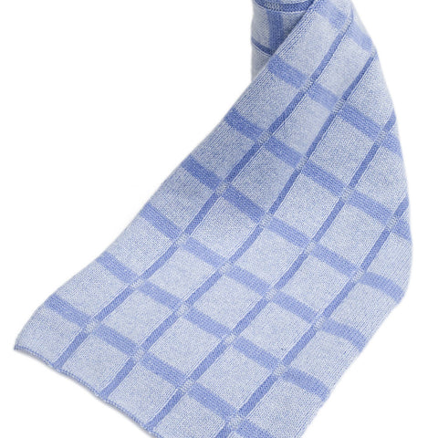 Cashmere Checkered Patterned Scarves