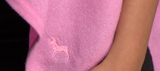 embroidery of pasha cashmere goat