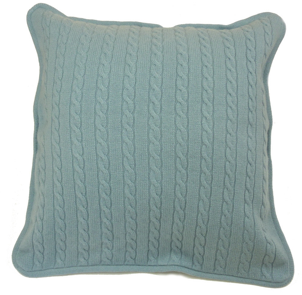 cashmere cushion covers duck egg