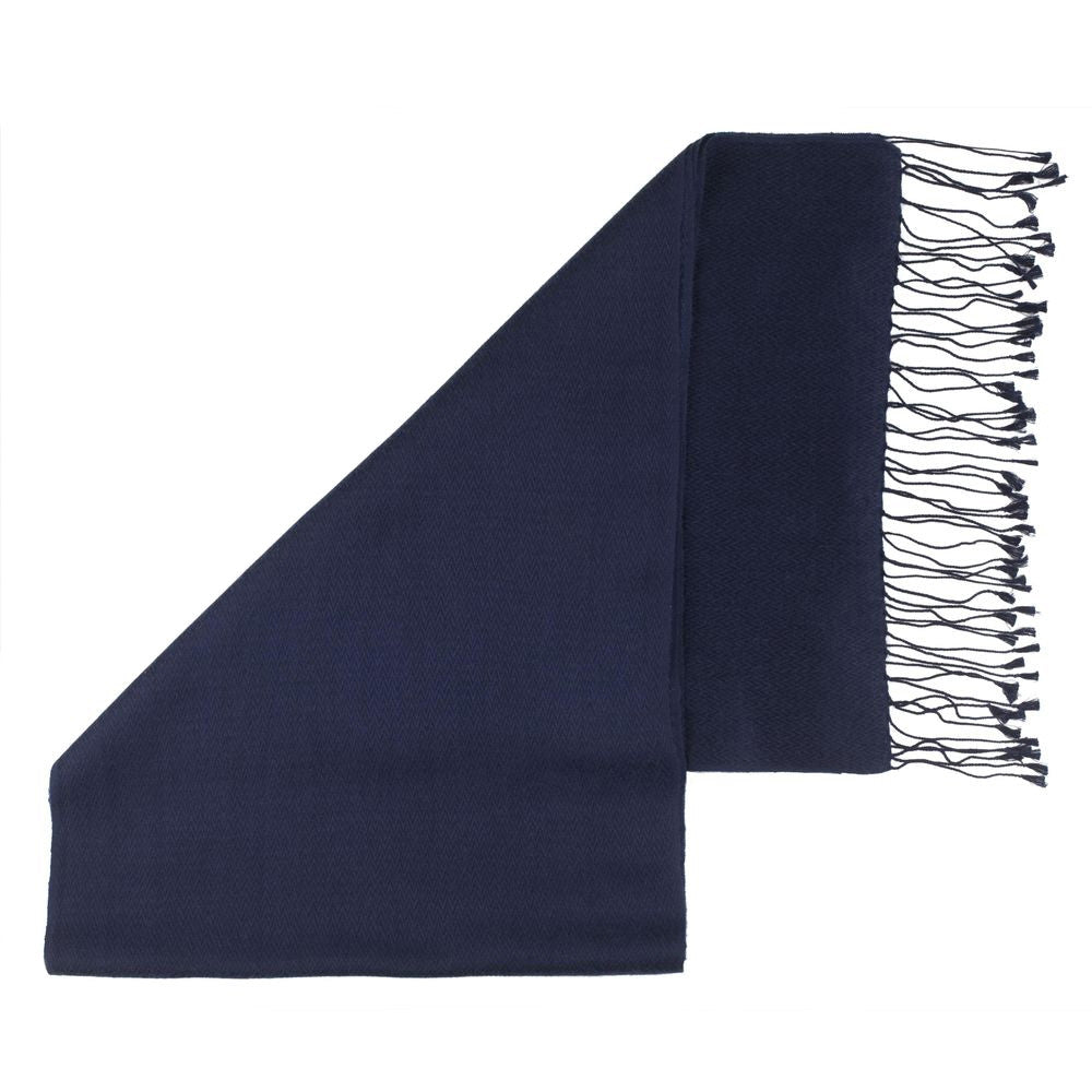 herringbone pashmina scarves mariner blue