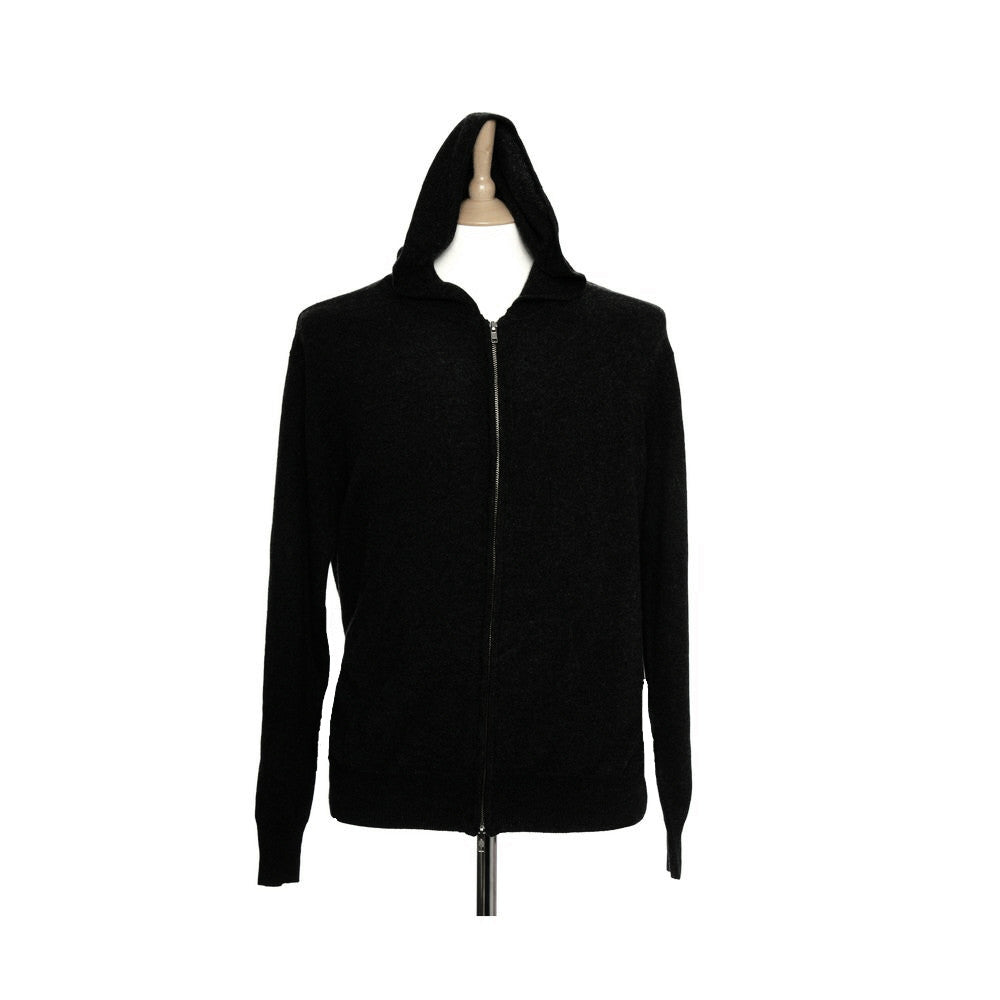 black cashmere hoodies