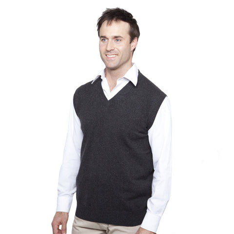 Men's V Neck Cashmere Slipovers