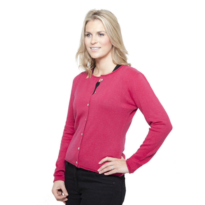 women's cashmere cardigans red admiral