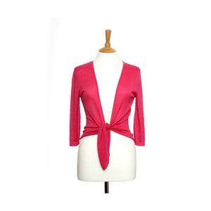 silk and cashmere ballet top pink