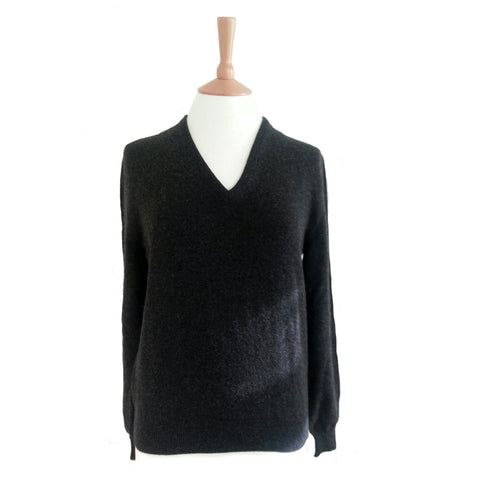 Women's V Neck Cashmere Jumper
