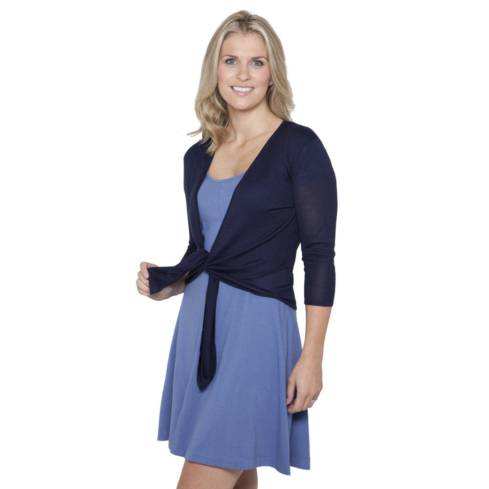 silk and cashmere ballet mariner blue