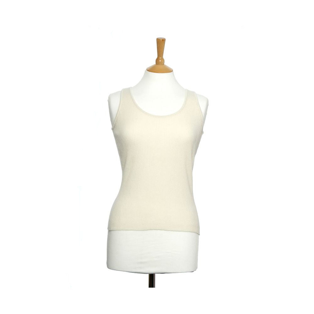 women's ribbed vest top snow