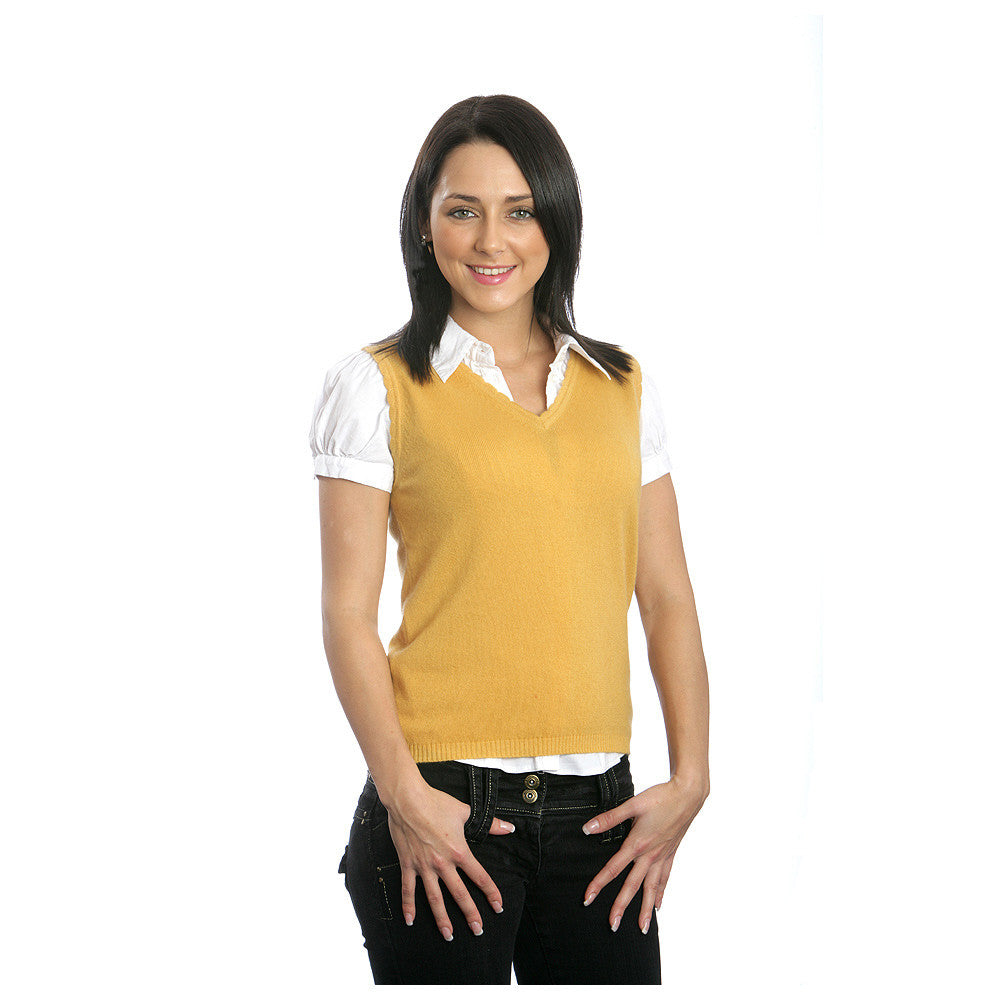 Home women s sleeveless tops women s cashmere v neck vest top