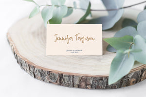 Wedding Place and Name Cards