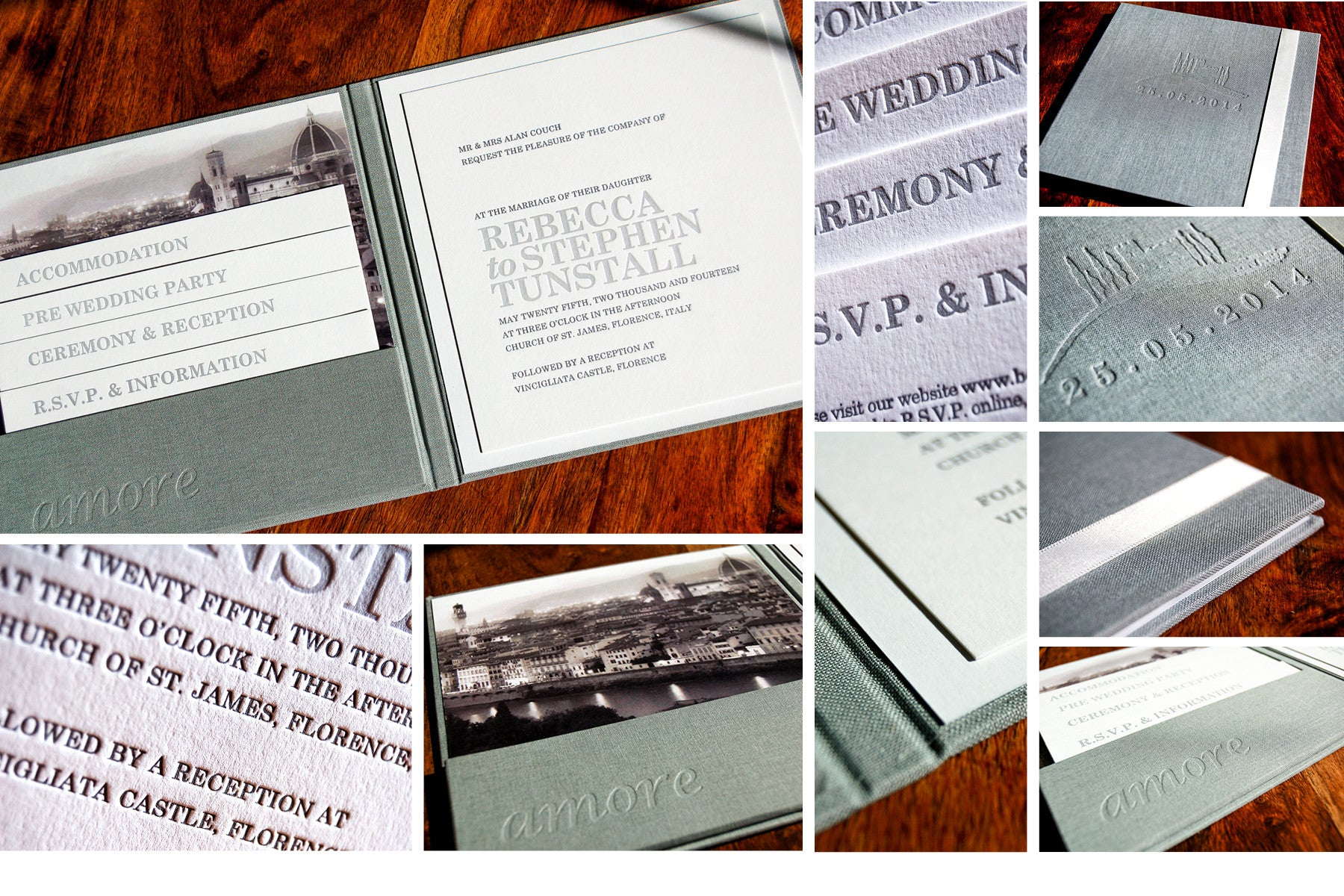 Bespoke Wedding Invitation