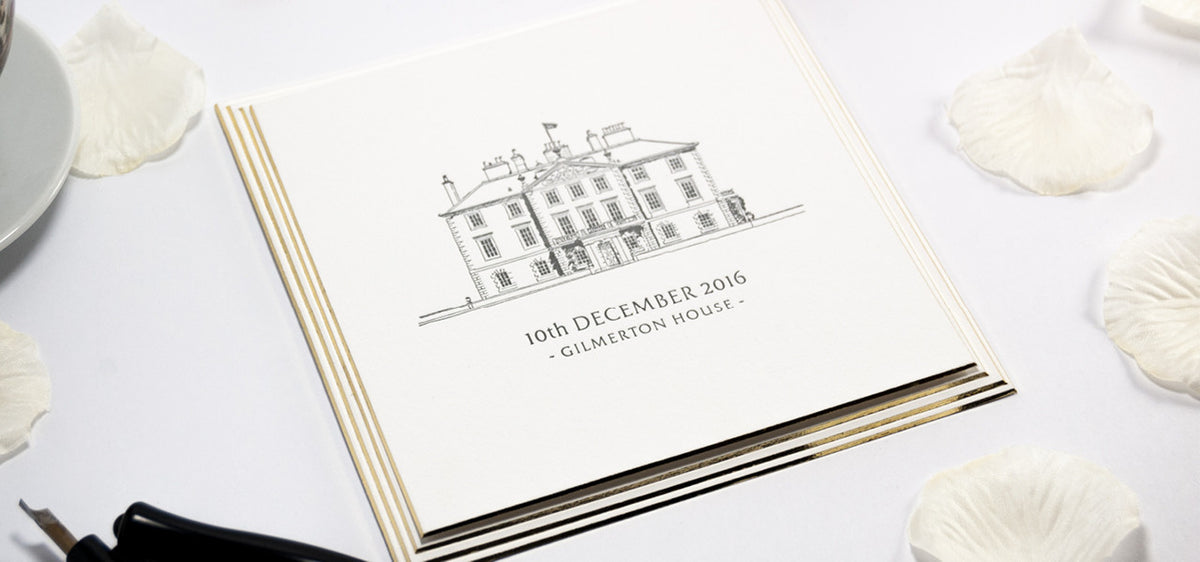 Luxury bespoke wedding stationery