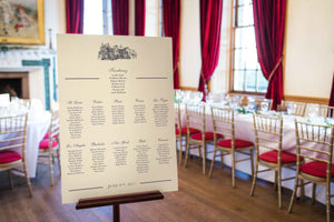 Brig o' Doon, Wedding Table Plan