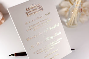 luxuryweddinginvitationsbycombossa Embossed Wedding Invitation Embossed Wedding Invitation, Aynhoe Park