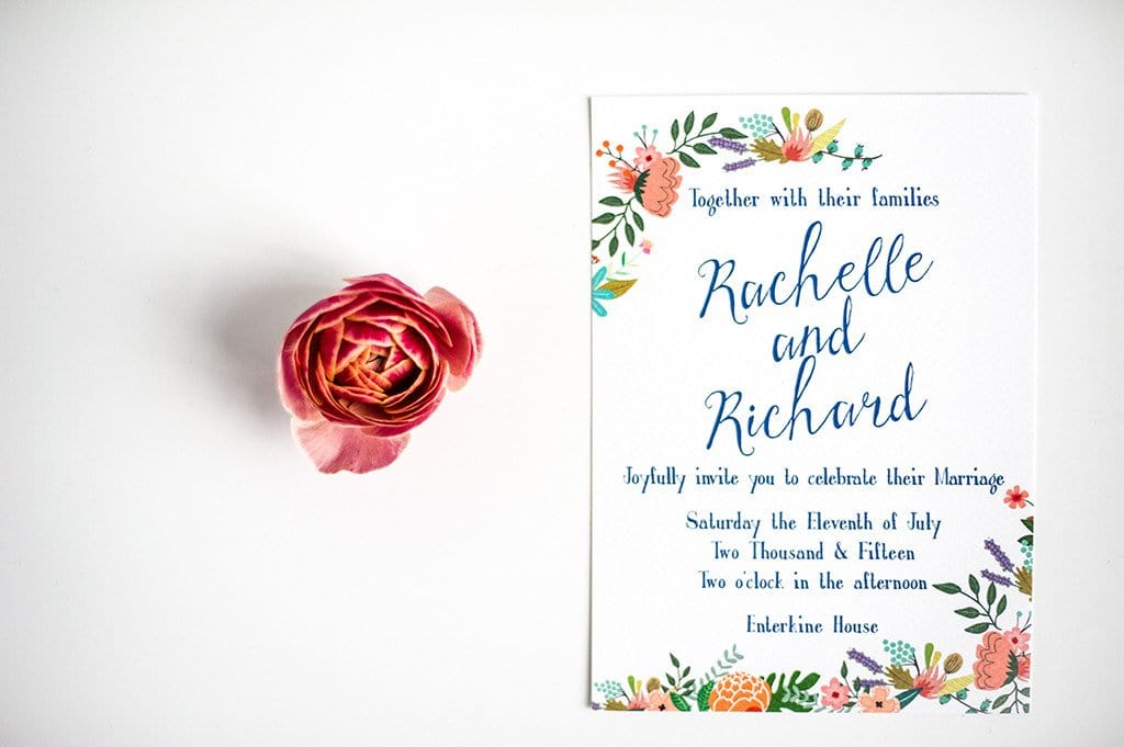 Garden Party Wedding Invitation, HD Digital - Luxury Wedding Invitations
