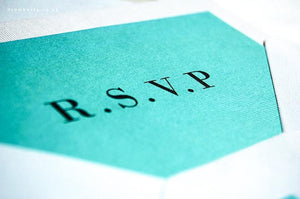 Letterpress Wedding Invitation, Classic New York - Luxury Wedding Invitations