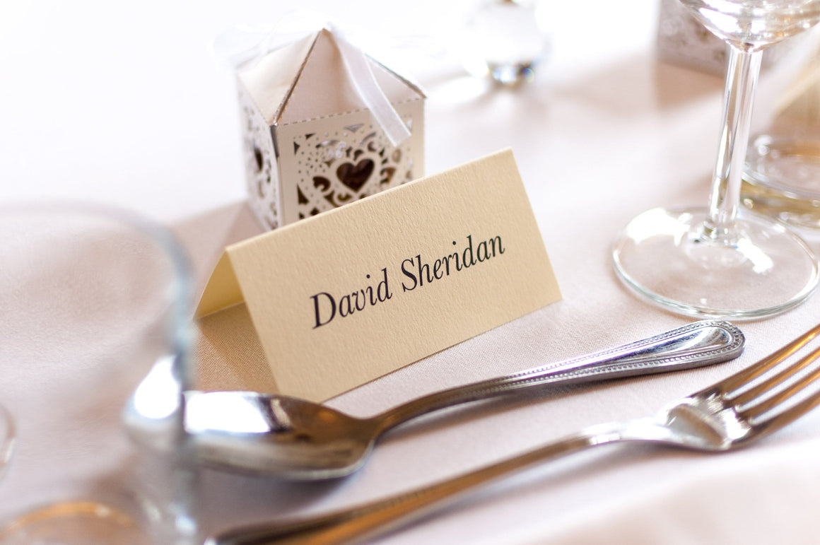 Rowallan, Wedding Place Card