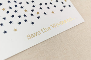 Starry, Starry Night, Save the Date.