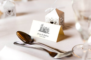 Sherbrooke Castle, Wedding Place Card