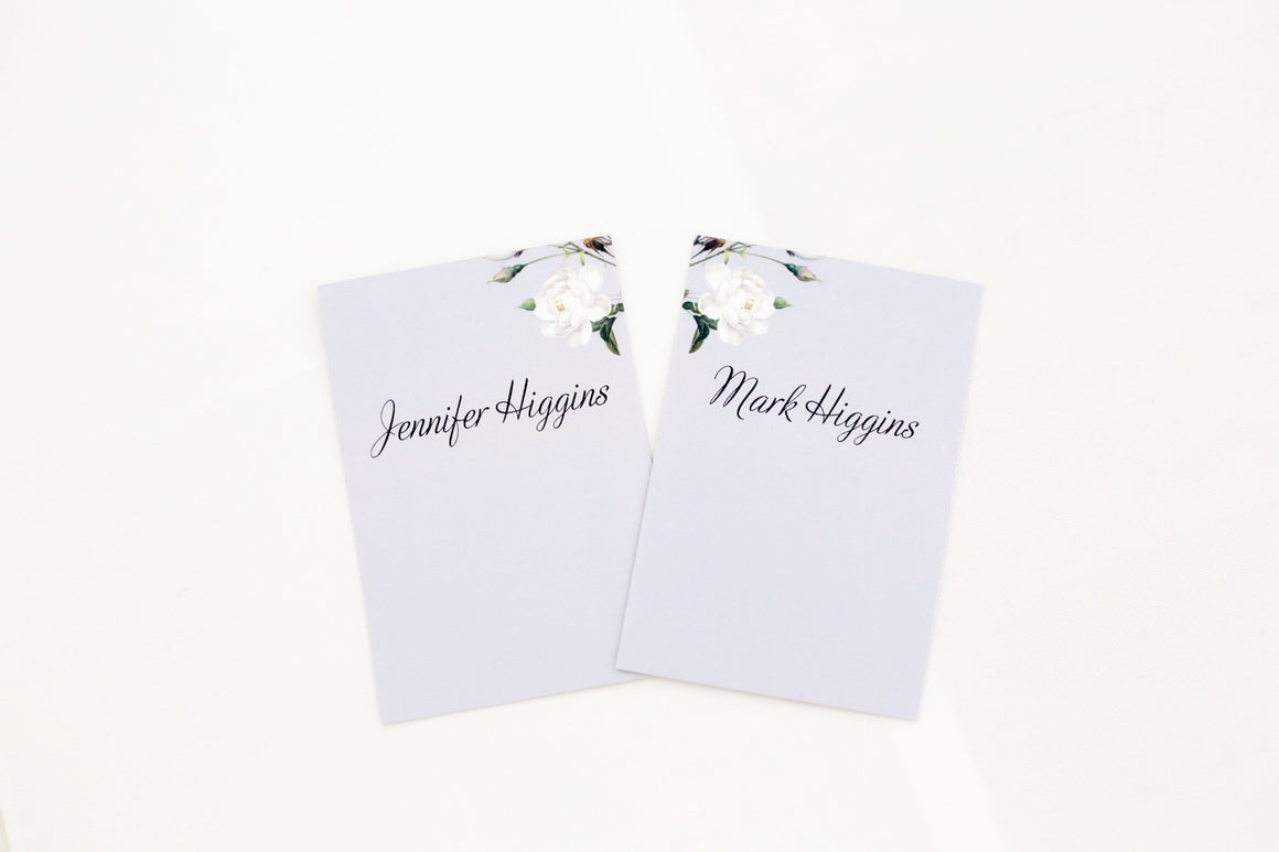Botanic, Wedding Place Card