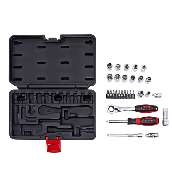 Wilson & Miller Patriot's 29pc Pass-Thru Socket set
