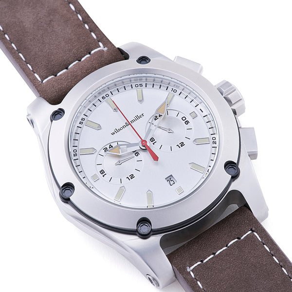 Wilson & Miller Titan Men's watch - White Silver